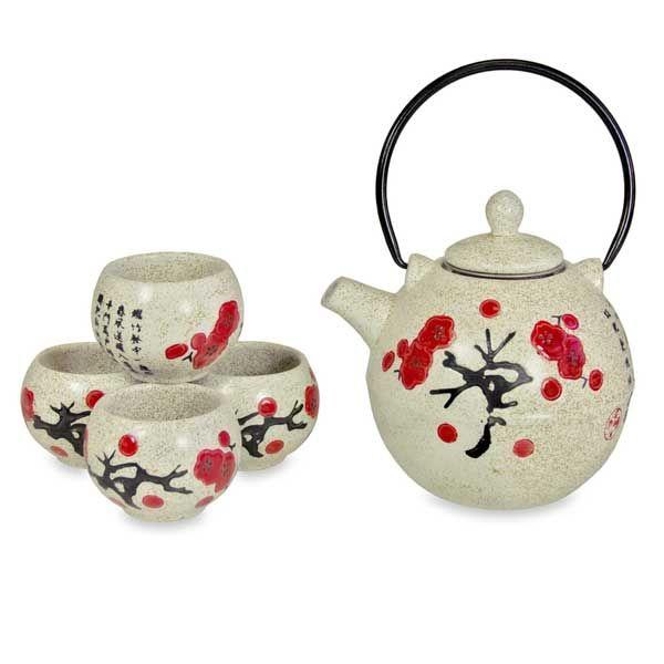 Tea Set - Spring Poem