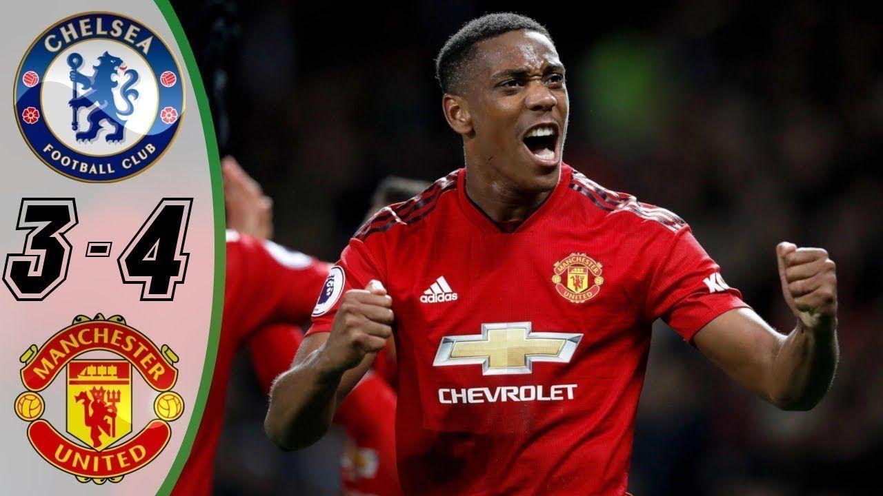 Chelsea vs Manchester United 3 4 Highlights & Goals