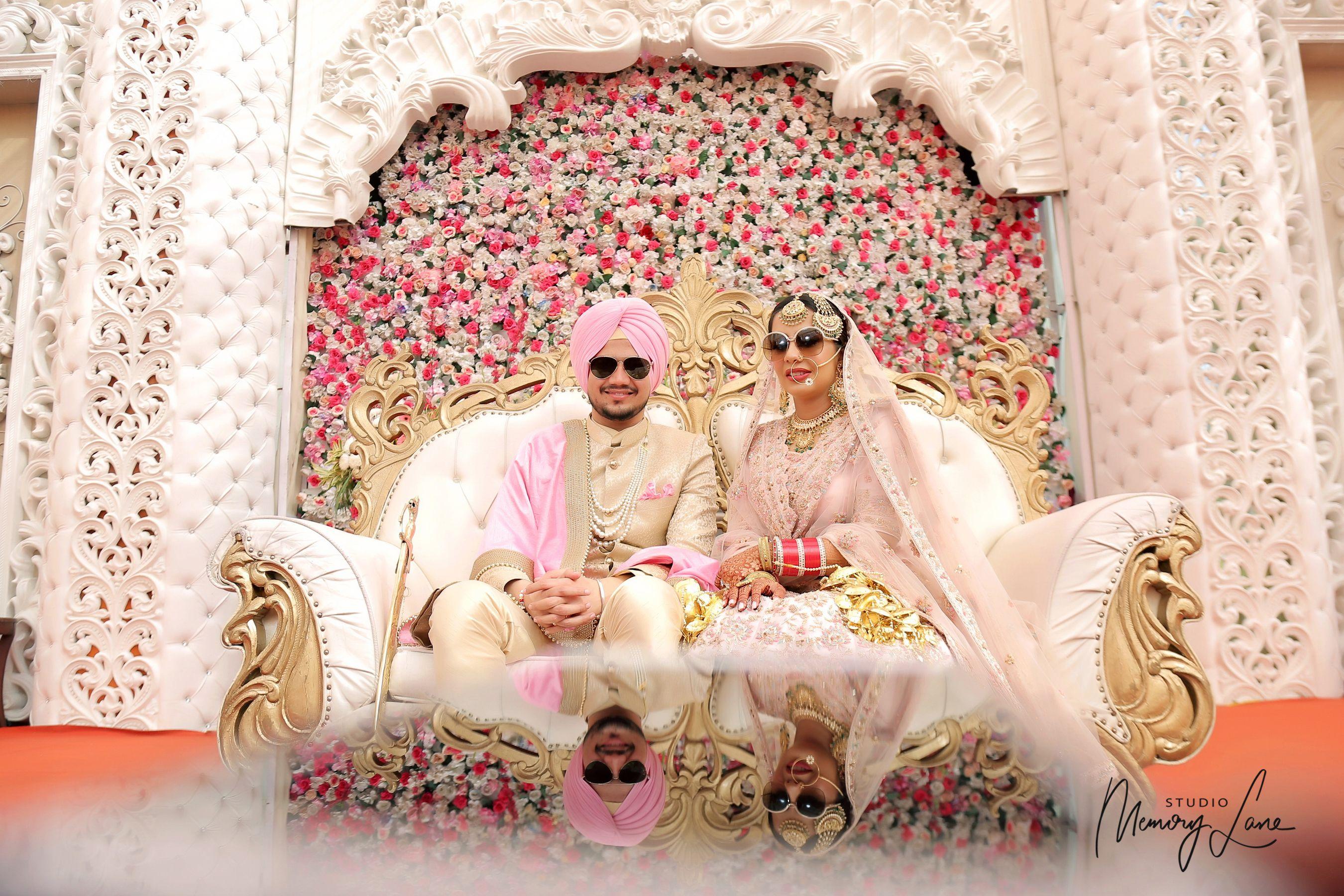 Punjabi Wedding couple captured in candid frames to look rejuvenating in their #WeddingDiaries  #photography #looks #style #wedding #Punjabiwedding #themewedding #prewedding