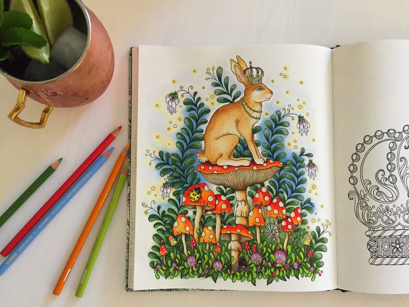 Coloring by numbers for rabbits - Daydreams Dagdr Mmar Coloring Book The Bunny King Coloring With Co