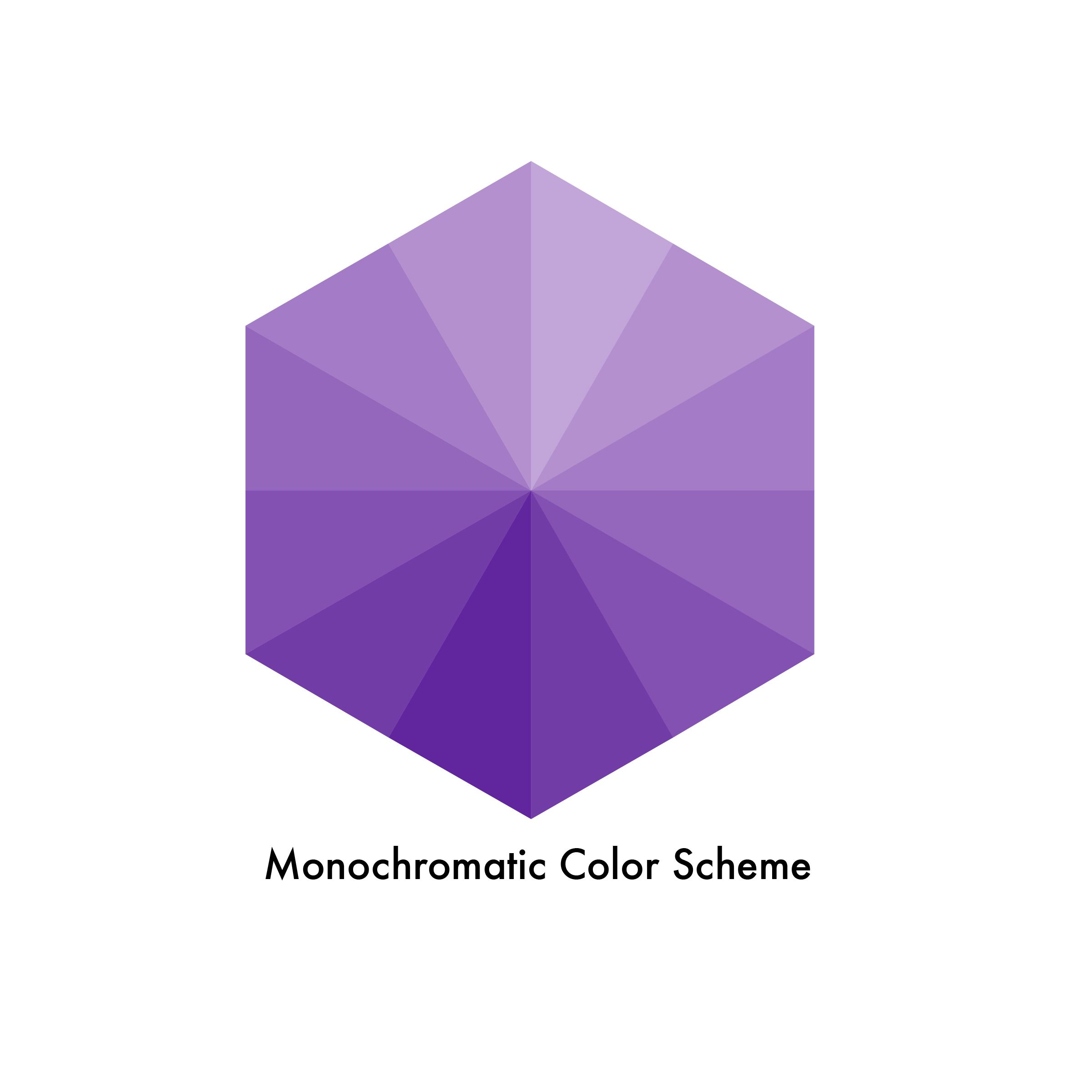 What Is Monochromatic Color Scheme monochromatic color scheme: this is derived from a single hue
