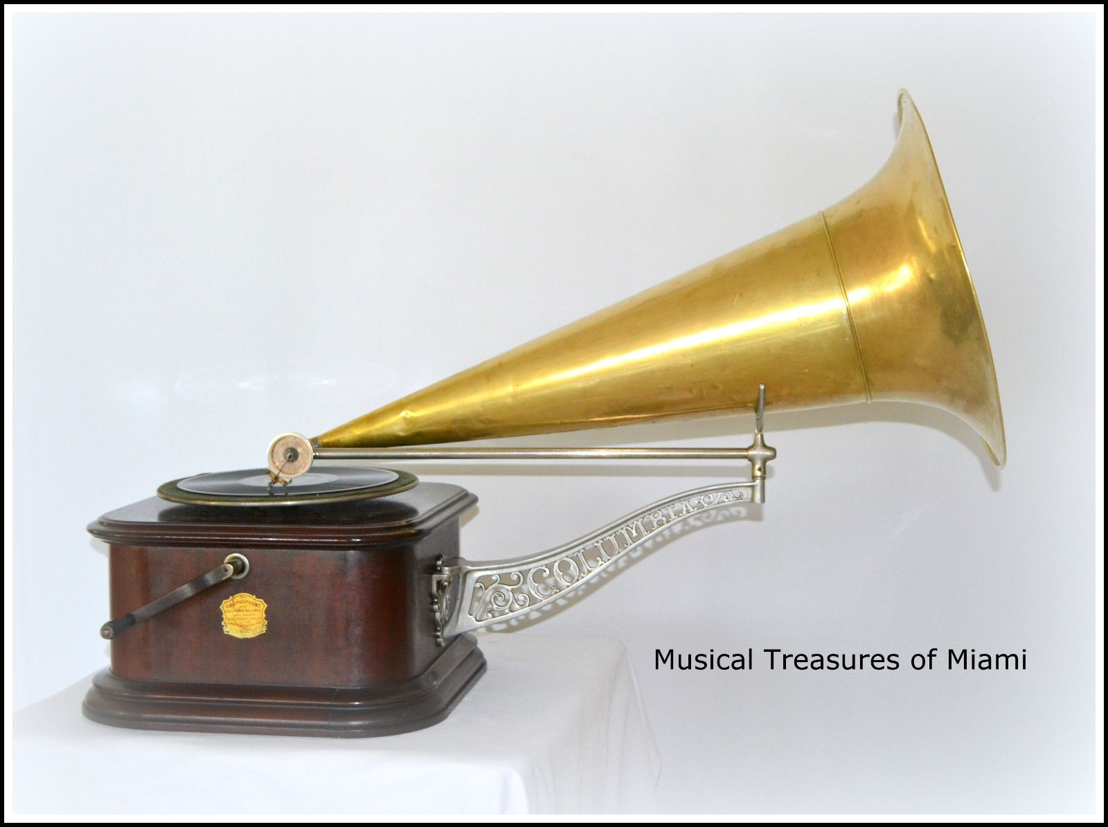 RARE COLUMBIA A-Y PHONOGRAPH GRAMOPHONE TALKING MACHINE | Collectibles, Radio, Phonograph, TV, Phone, Phonographs, Accessories | eBay!