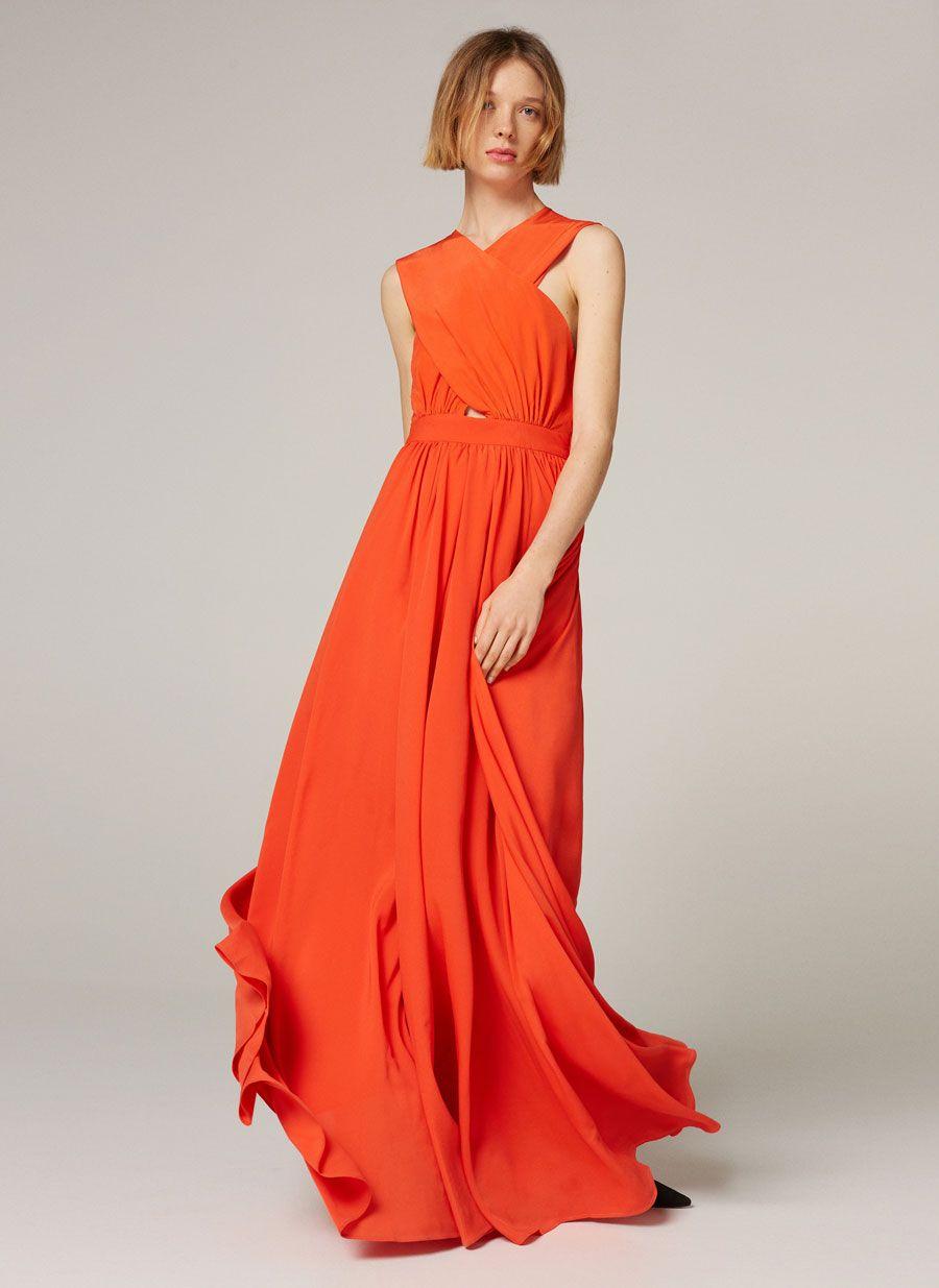 Vestido rojo uterque 2019