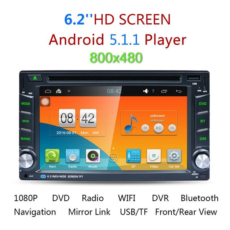 2017 Ar6002b 6 2 Universal Gps Navigation Car Dvd Player 2 Din Touch Screen Bluetooth Stereo Radio Audio Mp3 Music Android Wifi Gps Navigation Car Dvd Players