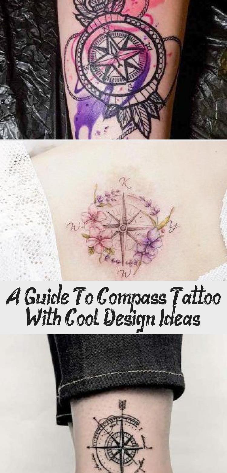 Photo of Un guide du tatouage de boussole avec des idées de design cool – Tatouages