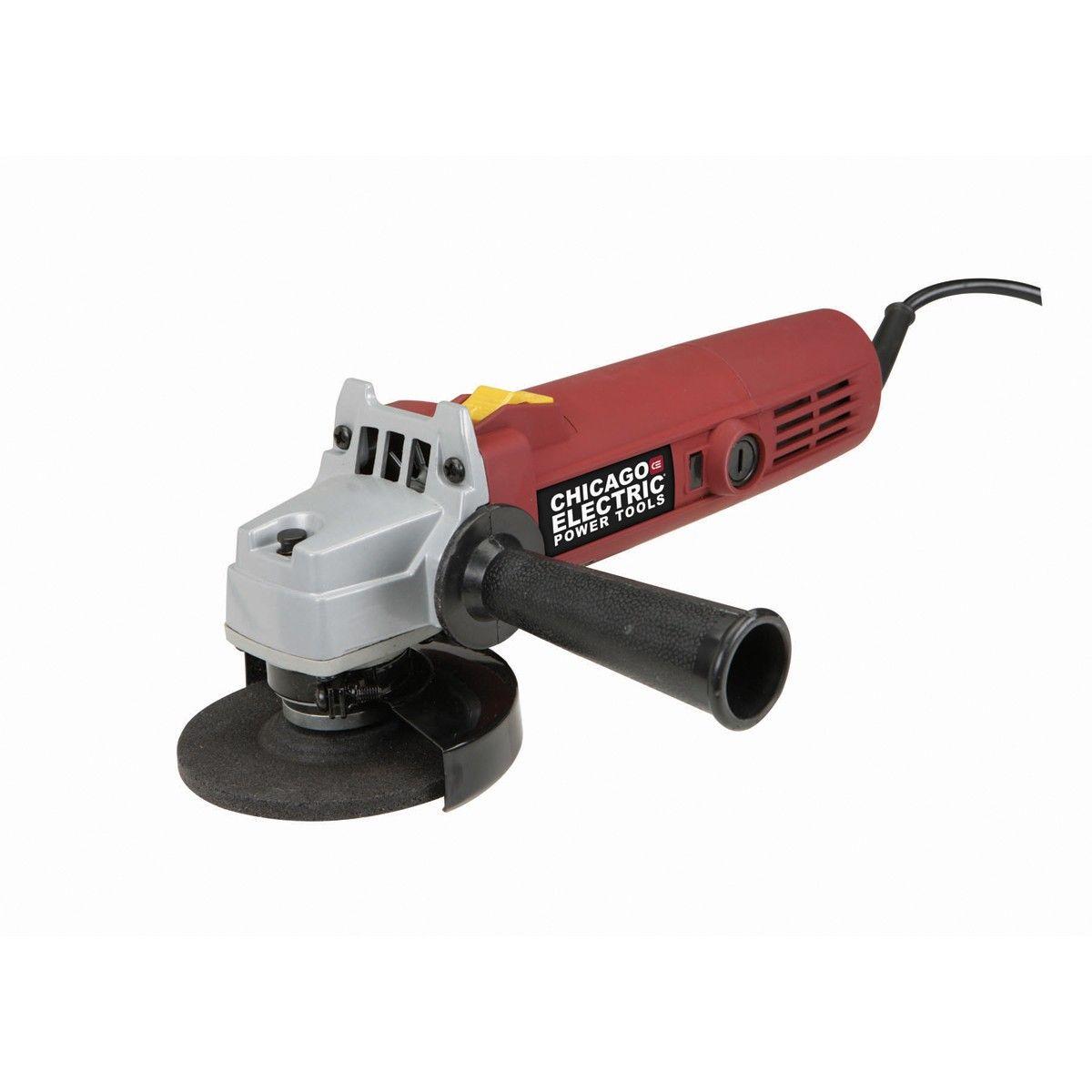 Corded 4 in 5 amp angle grinder angle grinder granite