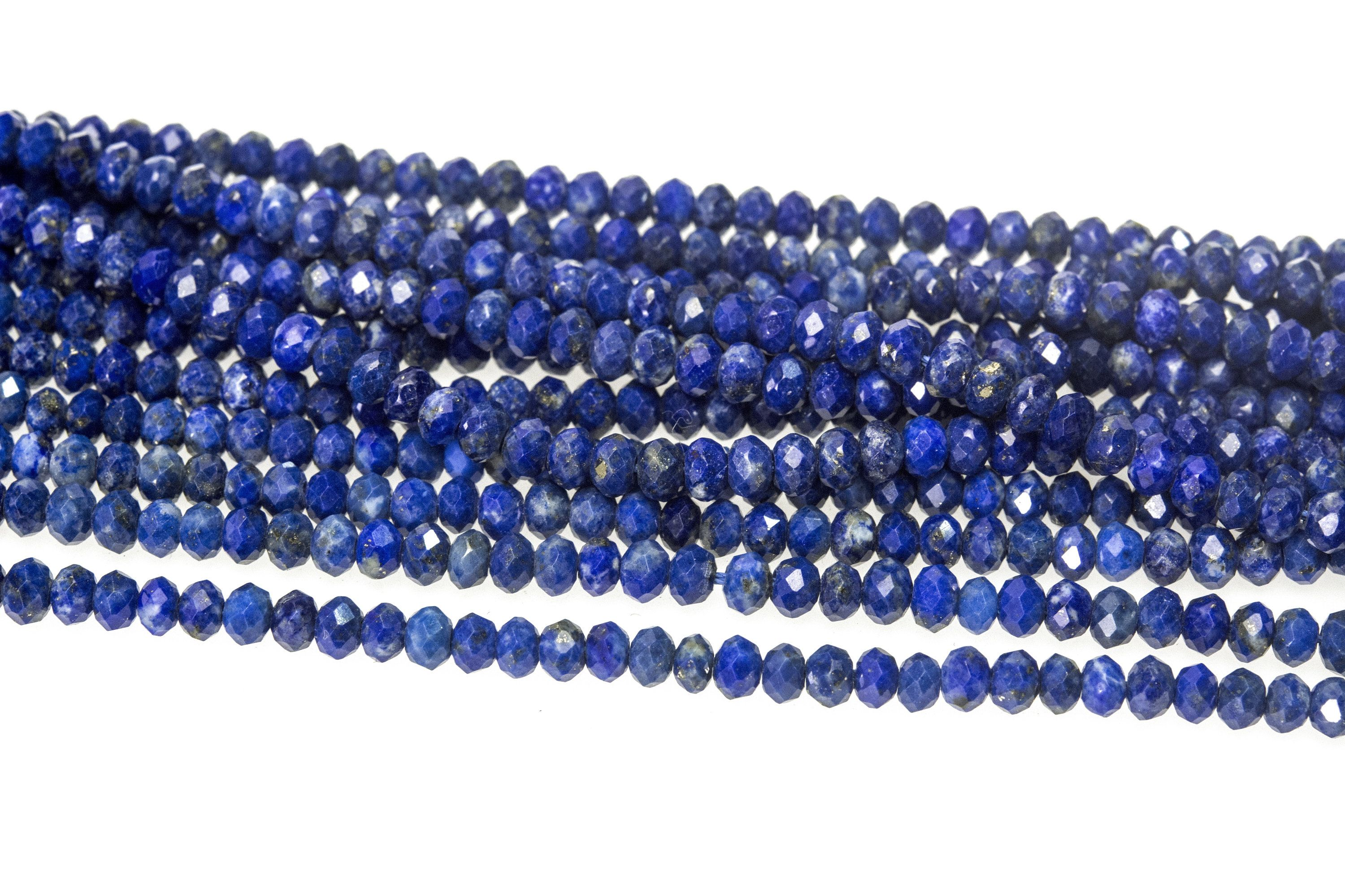 Rondelle faceted beads 2mm Glass beads Round beads DIY Craft supplies Sewing Embroidery Needlework Decoration