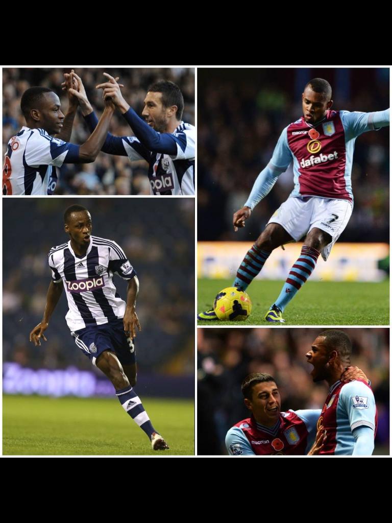 Collage of Villa vs WBA