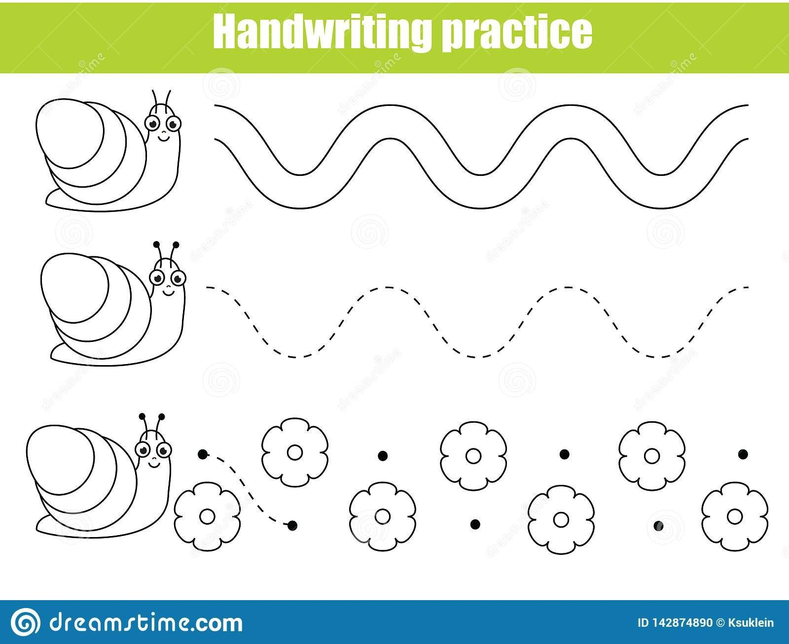 Texture Worksheet For Kindergarten Preschool Handwriting