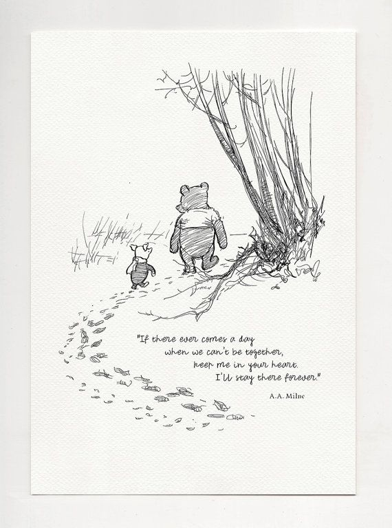 If There Ever Comes A Day Winnie The Pooh Quotes Classic