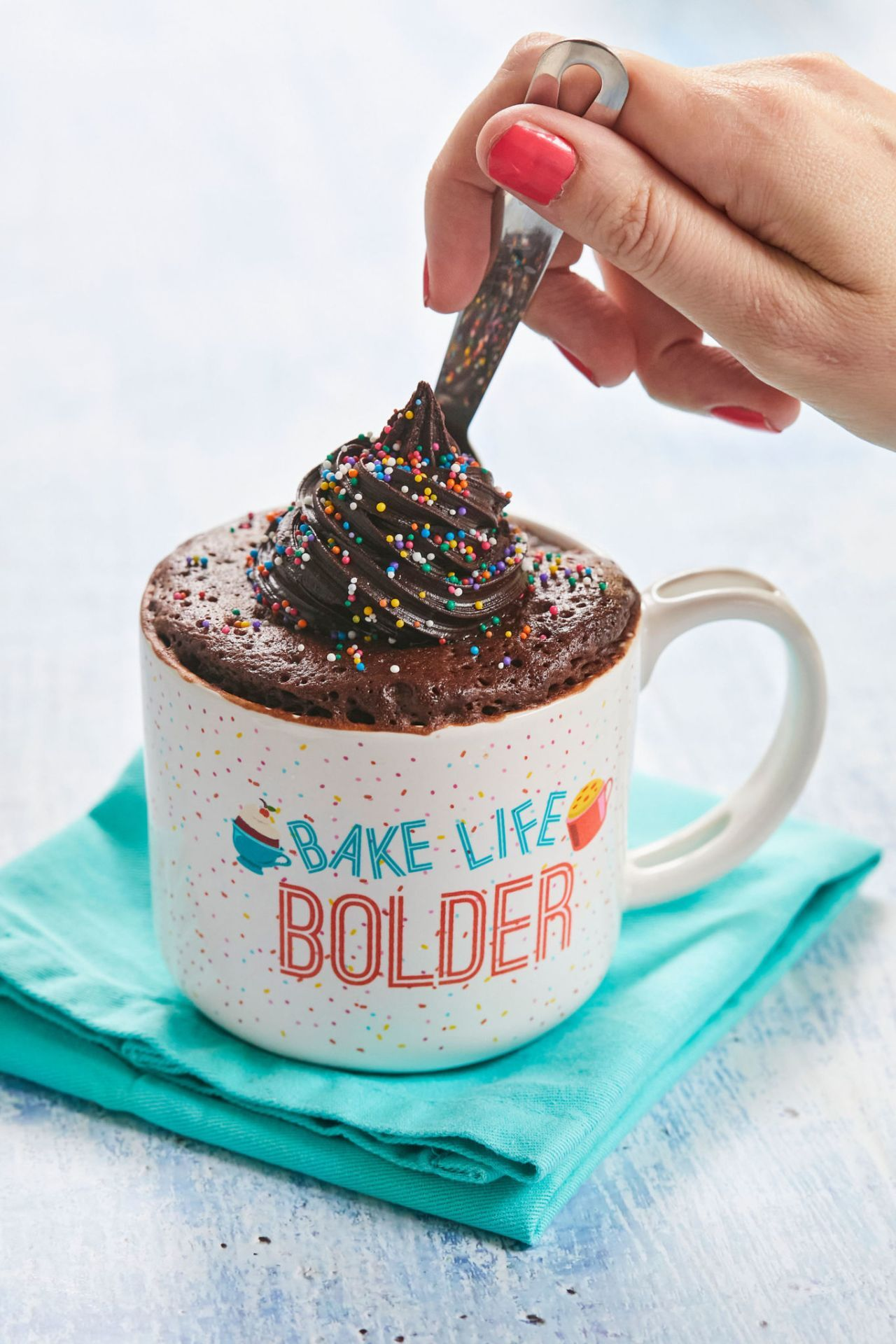Gemmas bestever chocolate mug cake gemmas bigger