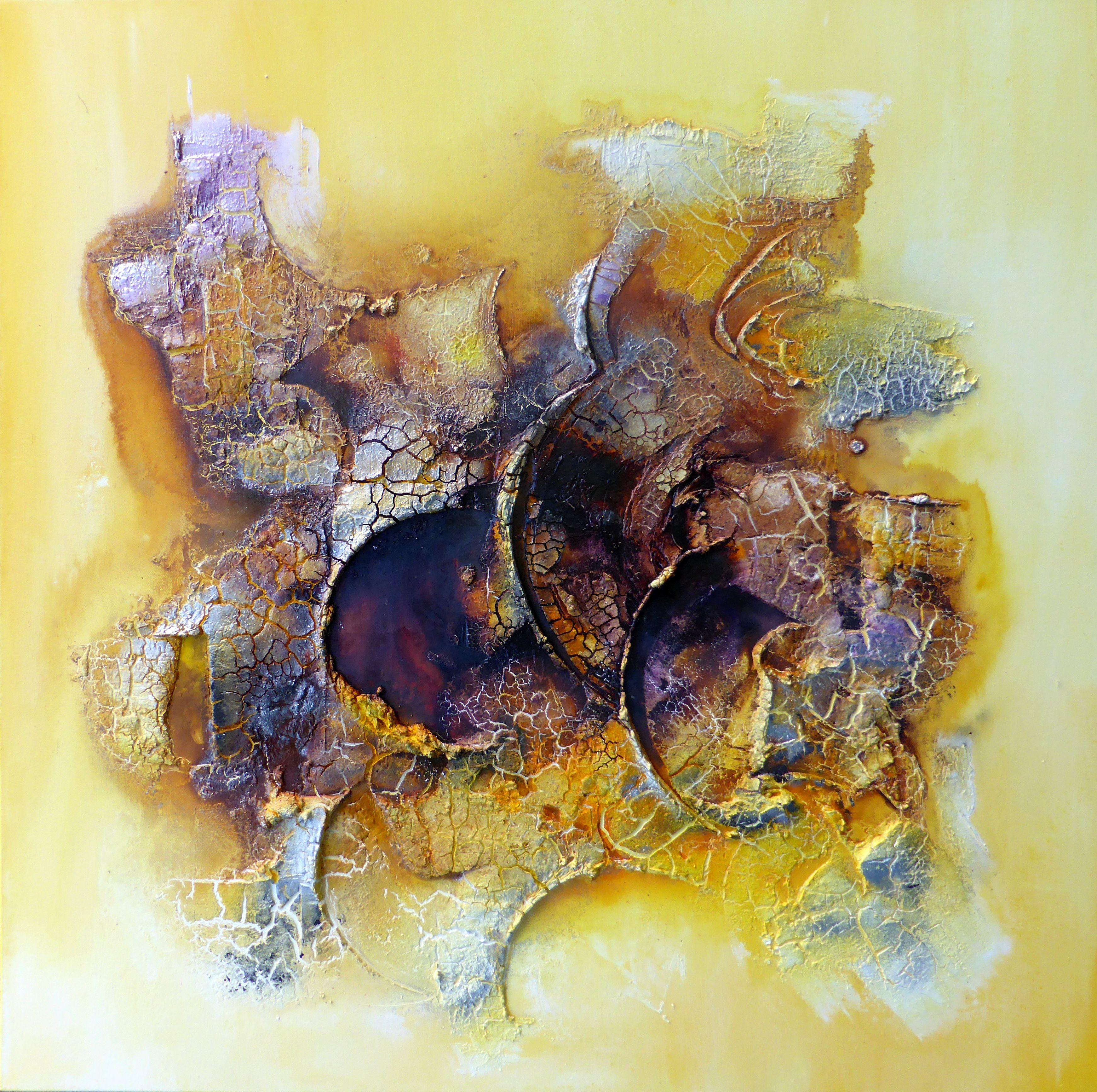 100 x 100 cm Art by real-art.ch , Marmormehl