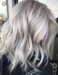 Finde Die Schönsten Frisuren Für Graues Haar Mit Strähnen