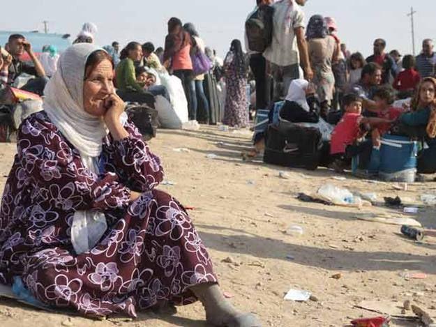 El éxodo sirio se traslada a Irak tras la escalada de la violencia en el Kurdistán www.rtve.es/