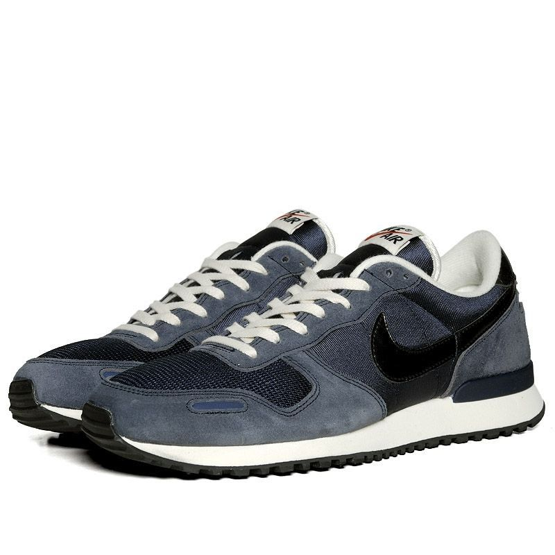 Nike Air Vortex Leather - Midnight Navy / Sail - Dark Obsidian - Total  Orange | Orange sneakers, Navy and Dark