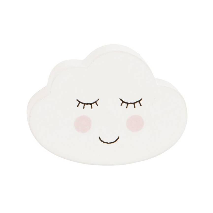 Sass Belle Deurknopje Wolk Smiling Cloud Babykamer In
