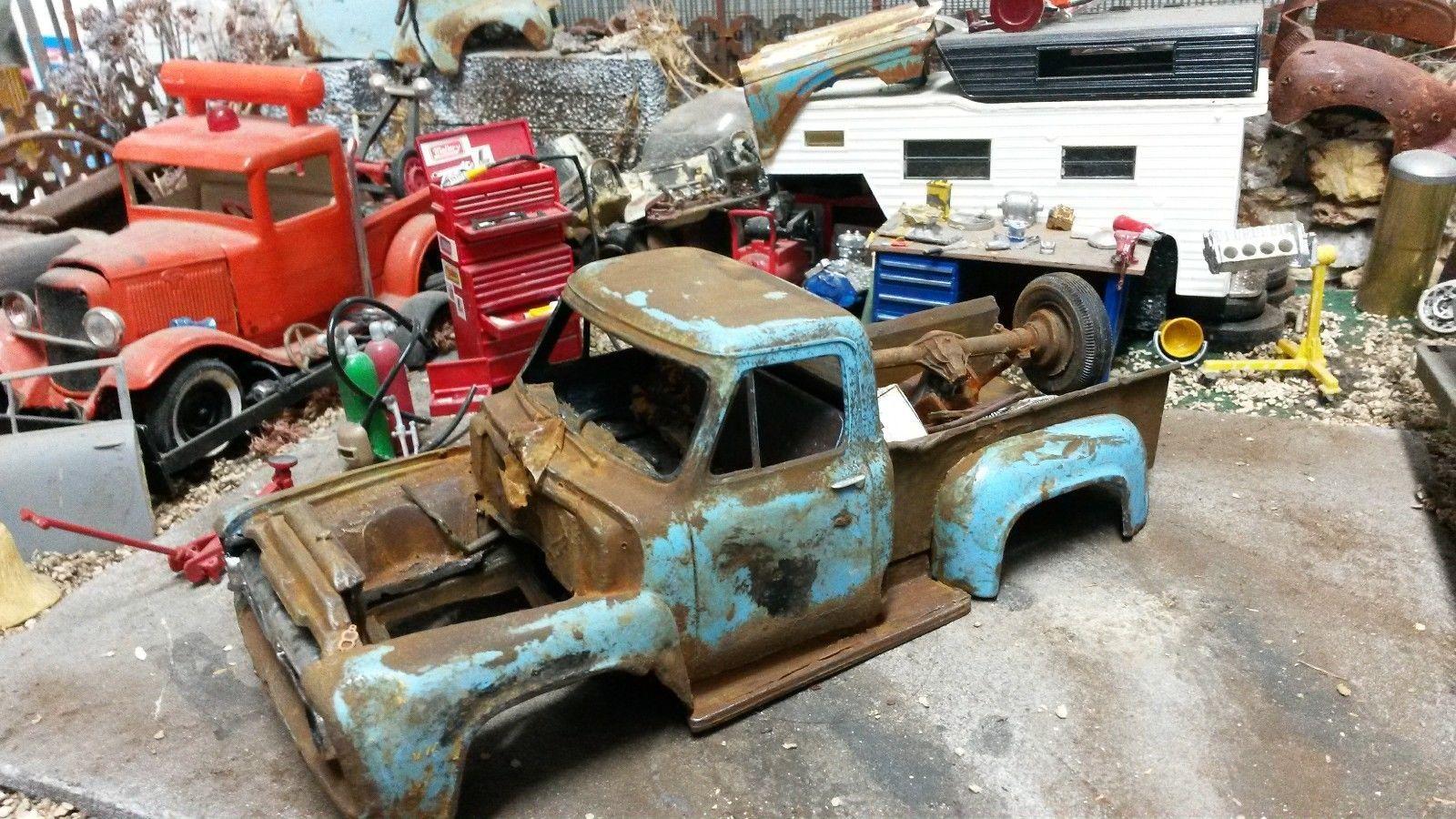 Junkyard junker 1953 f100 pickup plastic parts ebay