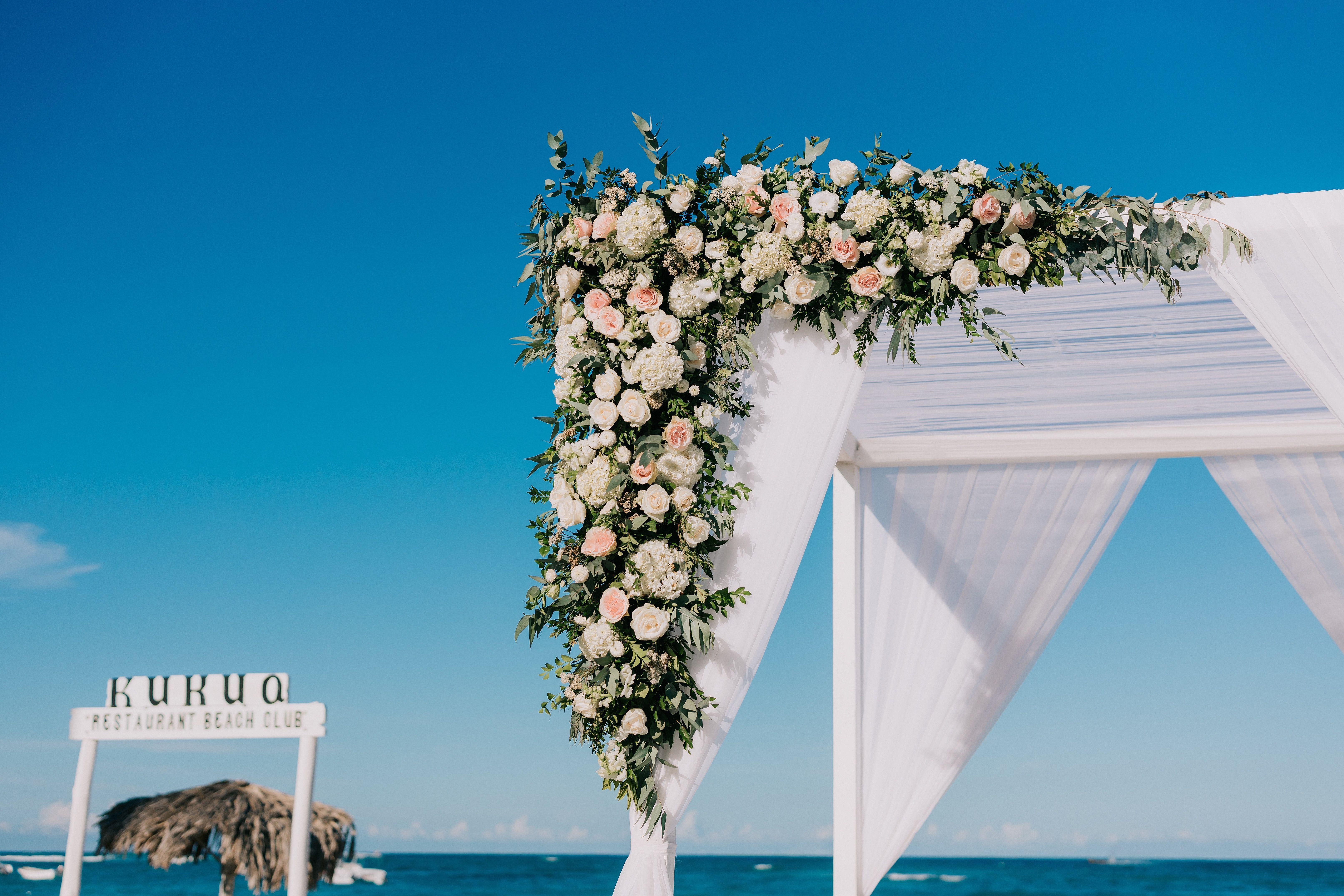 If You Are Having A Beach Wedding This Wedding Gazebo Arch Is