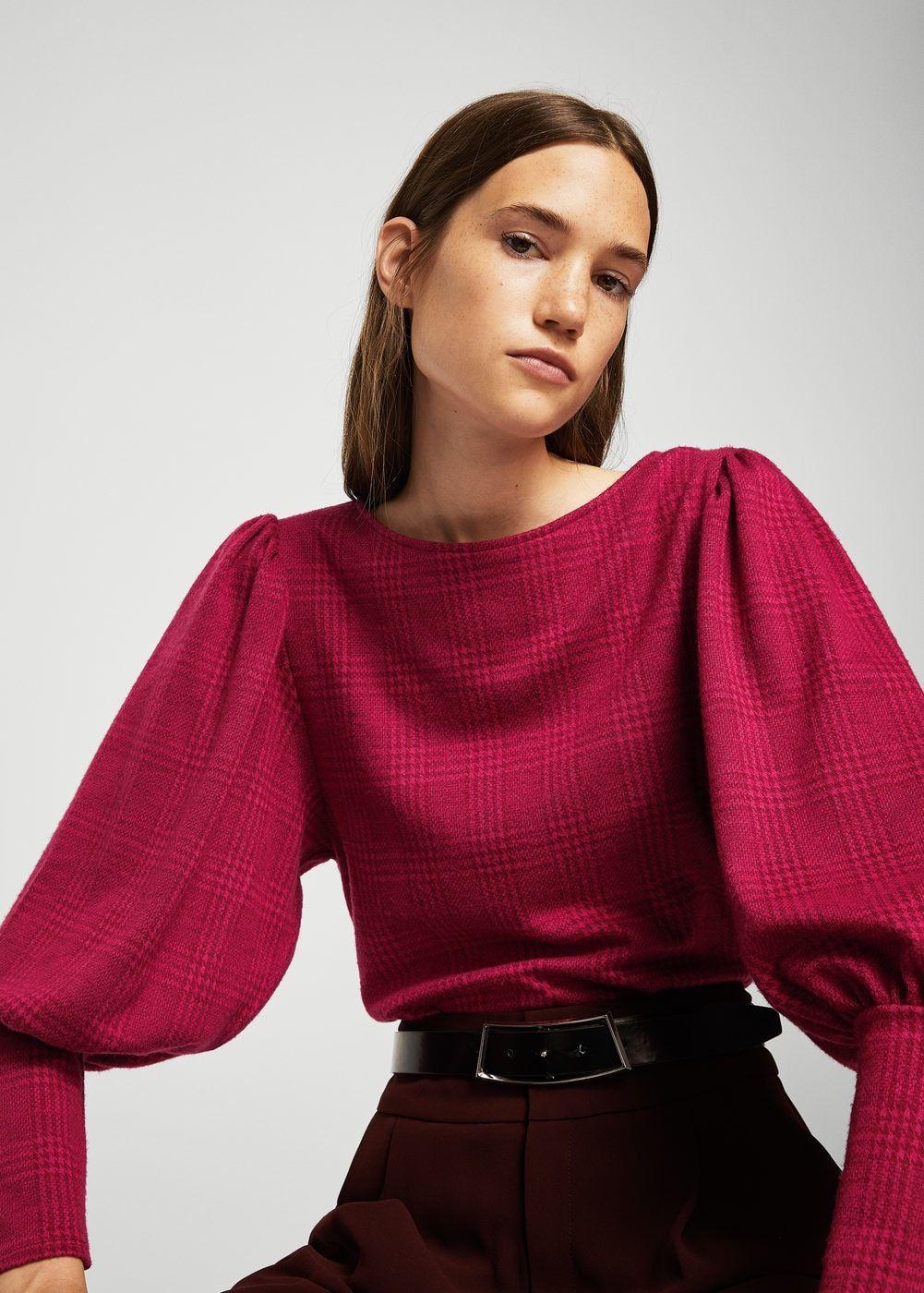 7f2e190c803218 Pullover maniche a palloncino pullover maniche a palloncino - Cardigan e  pullover da Donna | MANGO Italia