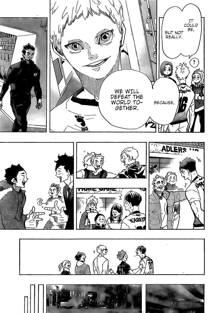 Haikyuu Chapter 401 Read Haikyuu Manga Online Haikyuu Manga Haikyuu Anime Haikyuu Start your free trial today! haikyuu manga haikyuu anime haikyuu
