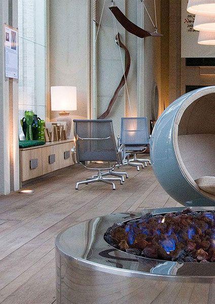 Catálogo de interiores - Construflama - A arte e o prazer do fogo