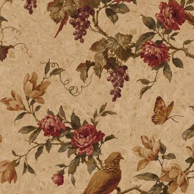 "4 Walls Lodge Décor Pheasant Trail 33' x 20.5"" Floral and Botanical Wallpaper Color:"