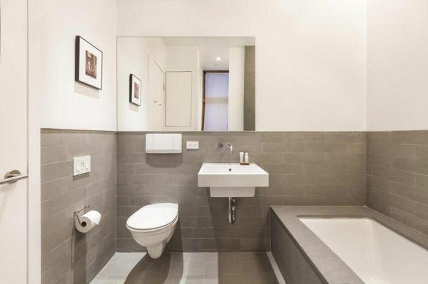 Badezimmer Fliesen Wei Grau Innenarchitektur Skizze | Bathroom ... Graues Badezimmer