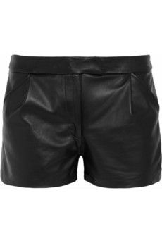 Kelly Bergin Leather shorts | THE OUTNET