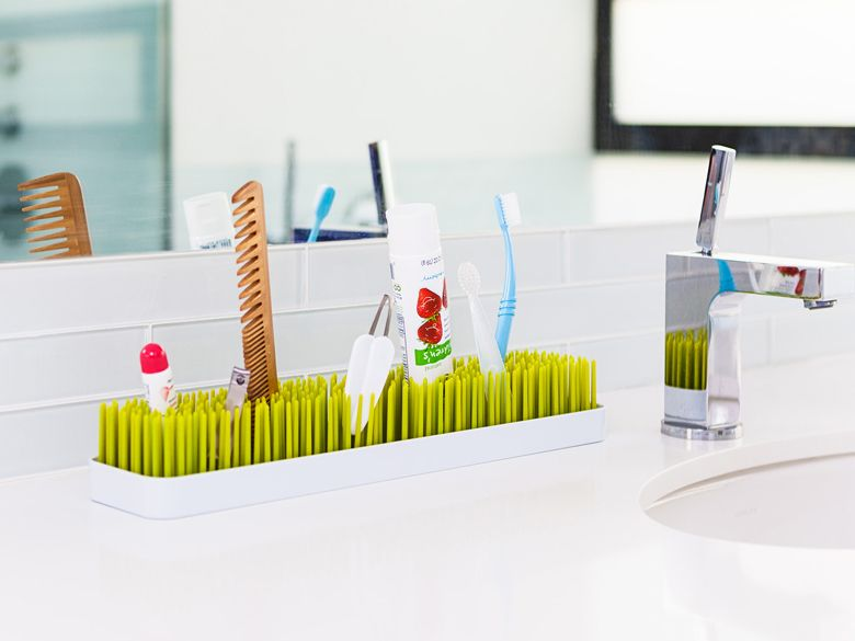 Boon Patch Countertop Drying Rack for Baby Bottle//Feeding Holder//Dryer Grass