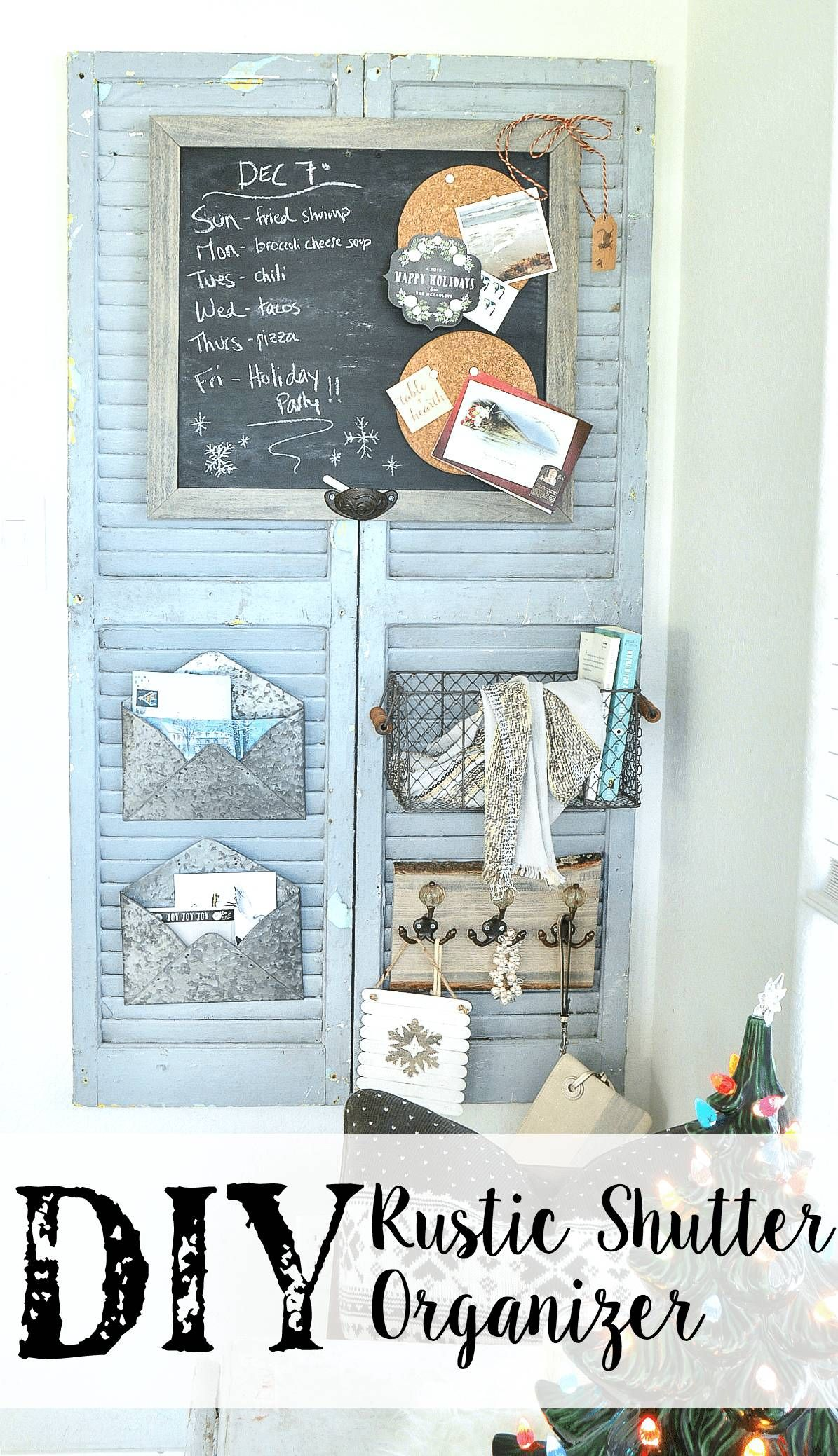 Get Inspired With These 20 Old Shutter Decor Ideas Shutter Decor Rustic Shutters Rustic Diy