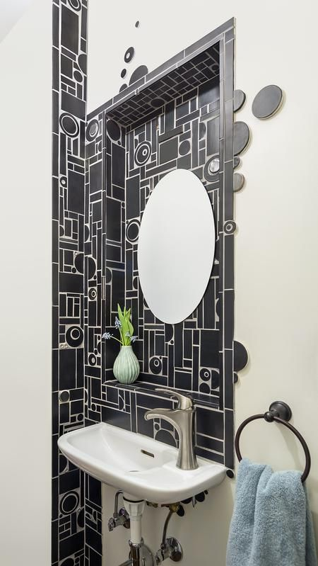 Idea for powder room in garage? A peek at our one-of-a ...