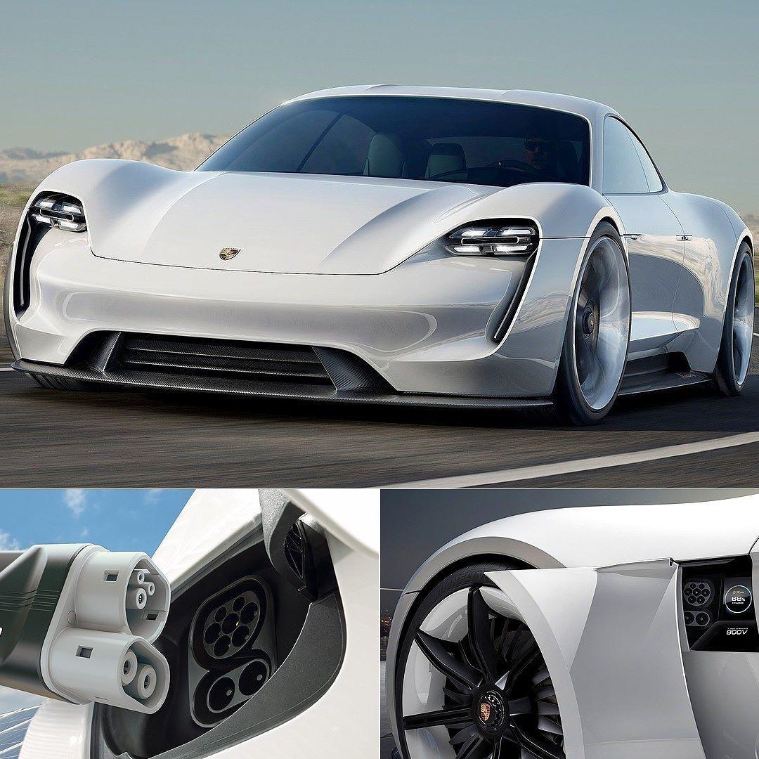 Porsche Mission E Concept 2015: Veículos Elétricos Terão