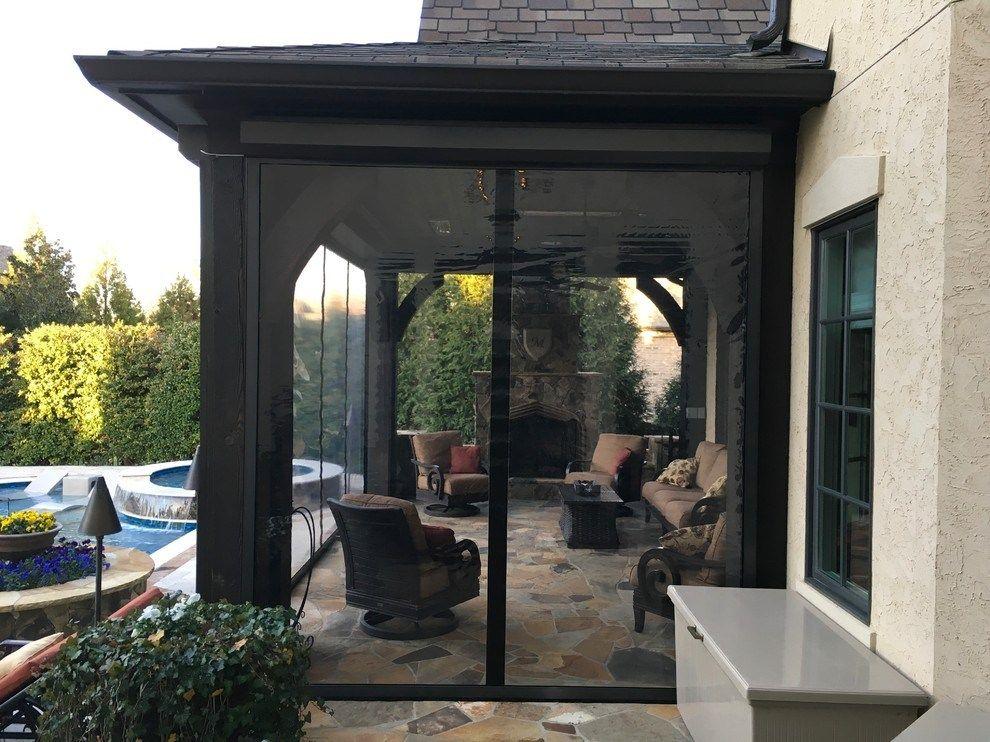 Clear Vinyl Porch Enclosure Panels Porch Enclosures Pool Houses Retractable Screen Porch