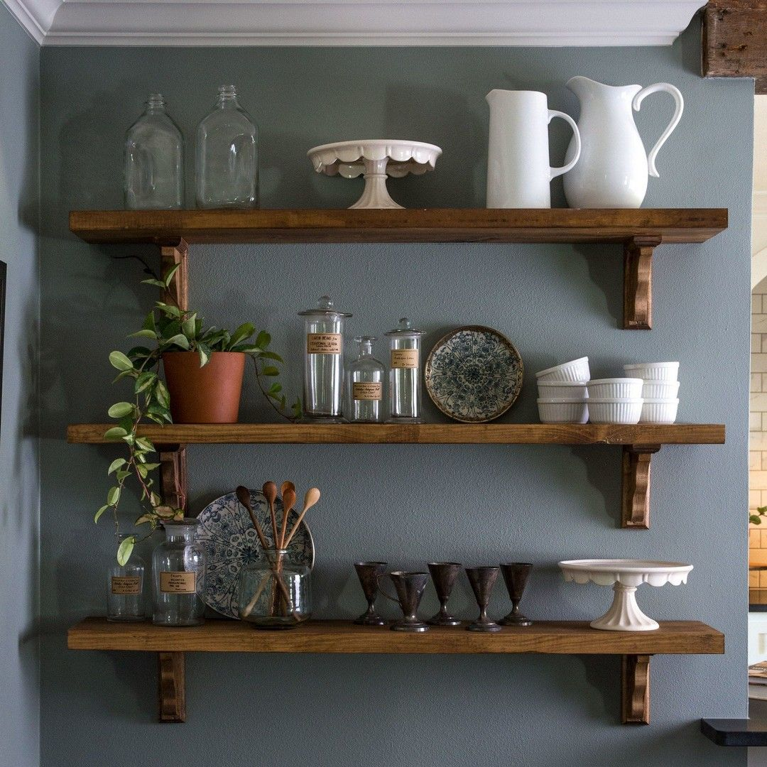 DIY Dining Room Open Shelving #951ryecourt