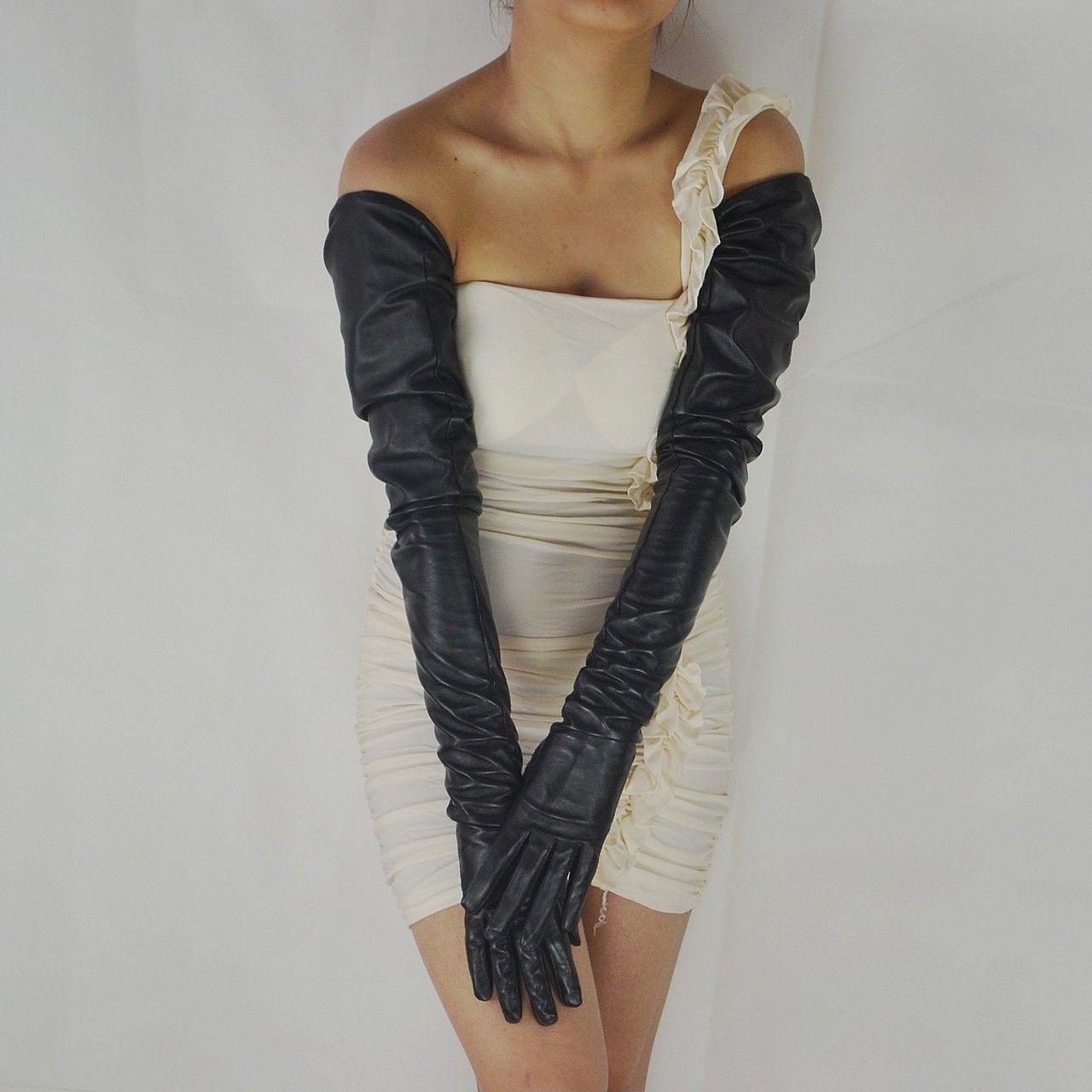 shoulder lengh gloves