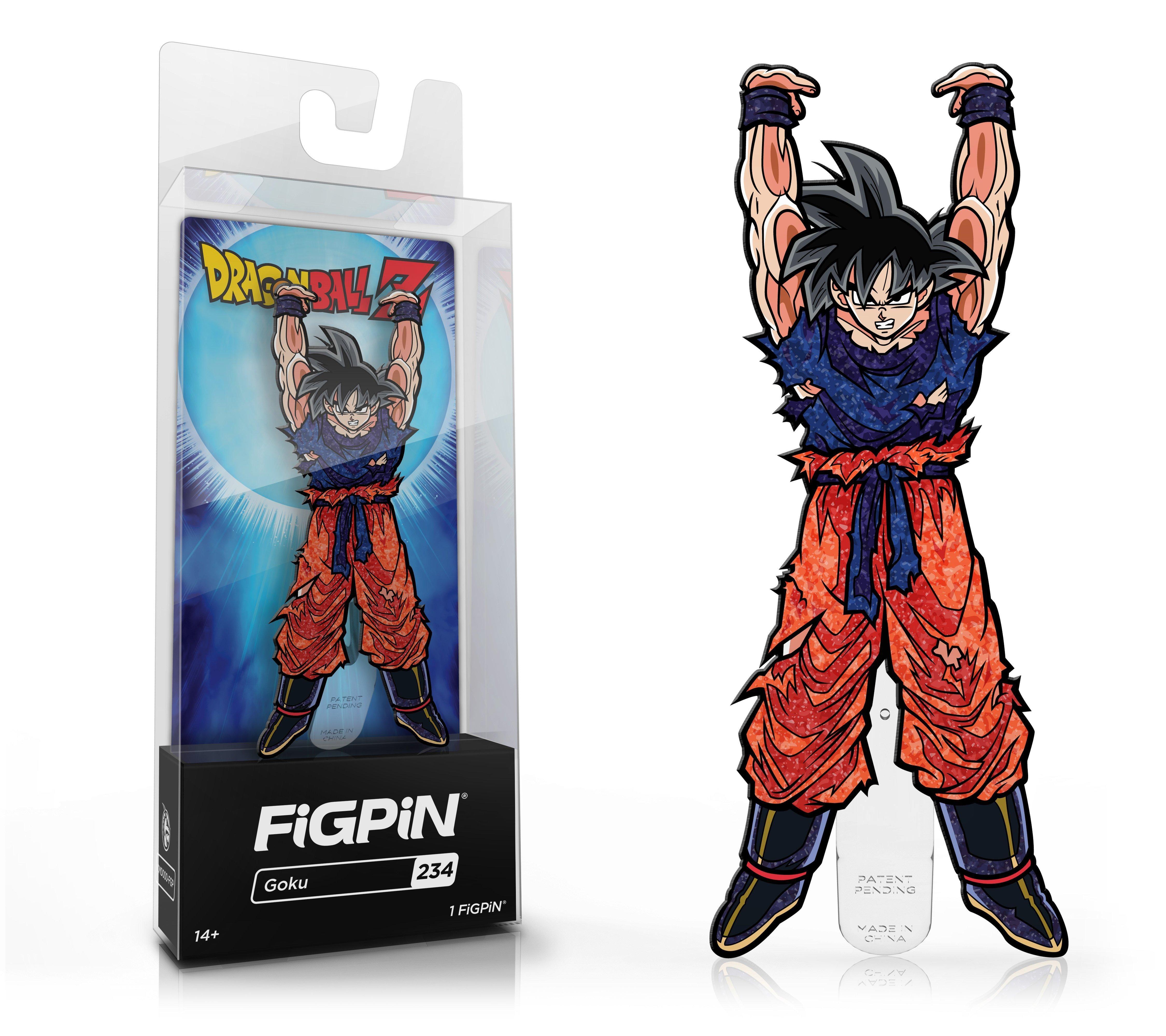 Dragon Ball Z: Kakarot Goku Glitter FiGPiN Only at GameStop | GameStop