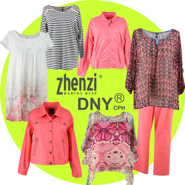 Nieuwe collectie Grote maten mode Zhenzi & DNY New collection plus ...