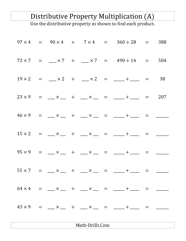 4th Grade prime and composite worksheets 4th grade : New 2013-05-22! Multiply 2-Digit by 1-Digit Numbers Using the ...