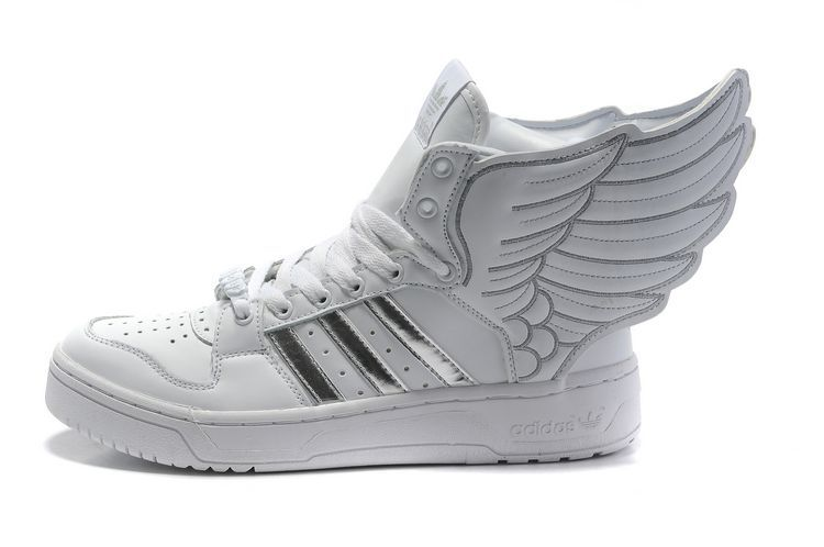 san francisco 41016 2b70f adidas originals x jeremy scott js wings 2.0 white silver