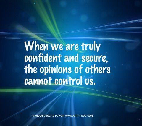 self confidence do amazing things <3