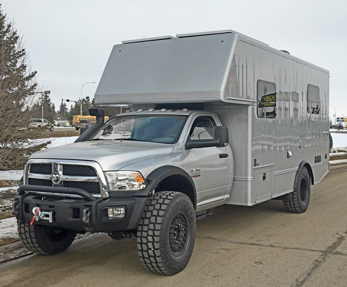 Dodge 4x4 Camper - Year of Clean Water