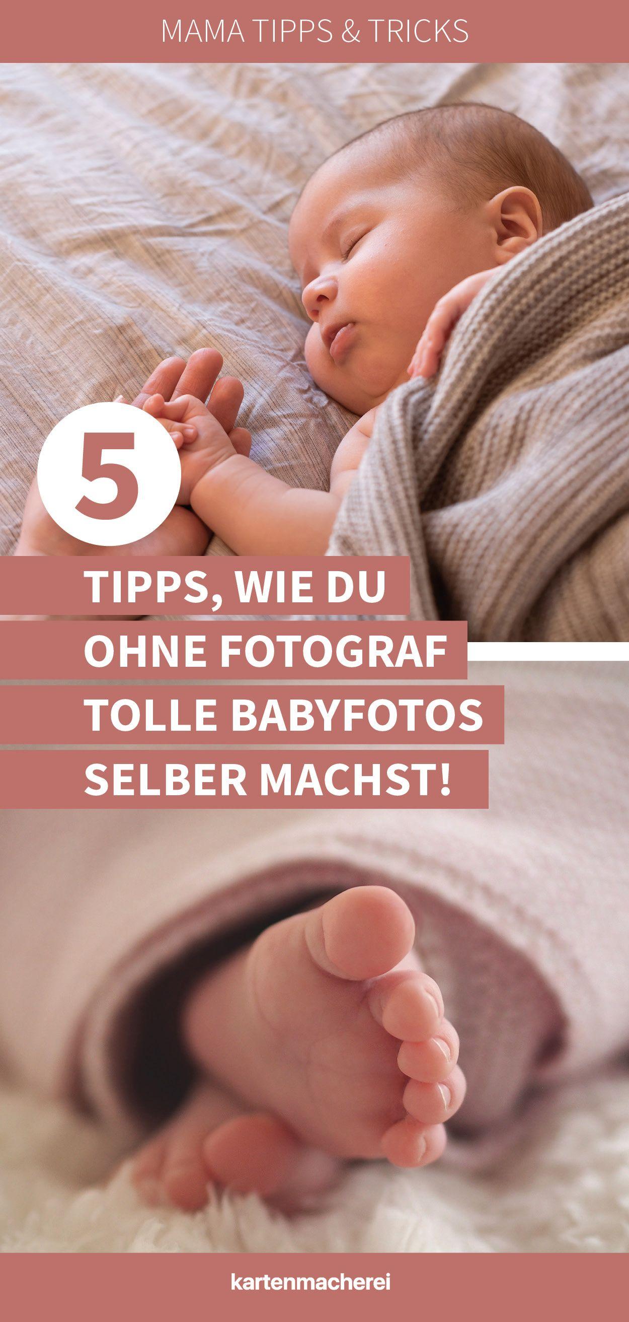 Babyshooting: 5 Tipps für perfekte Fotos nach der Geburt