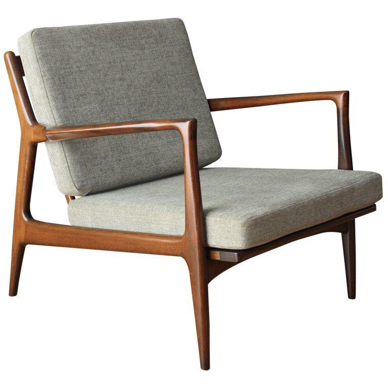 Danish Modern Selig Lounge Chair 1