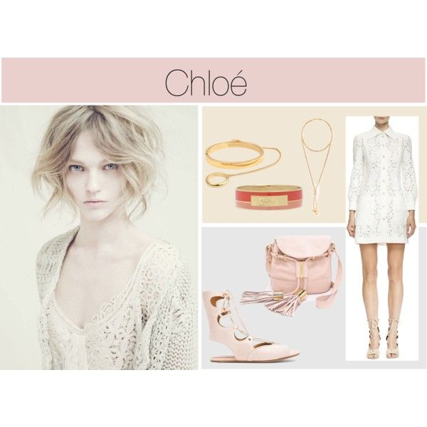 CHLOE by vanessaeale on Polyvore featuring mode, Chloé, See by Chloé and Alberta Ferretti