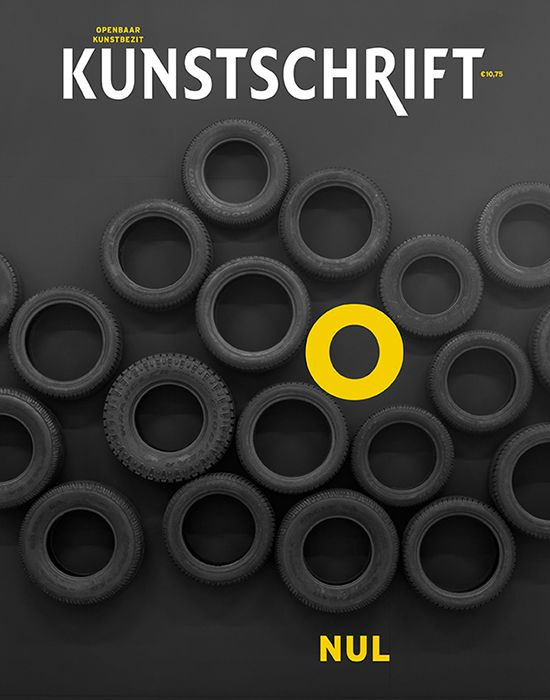 Cover for Kunstschrift (Nul / Zero) by Saiid & Smale