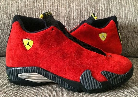 f9237c99bd6443 ferrari jordan xiv Air Jordan 14 Retro Ferrari CAN T WAIT