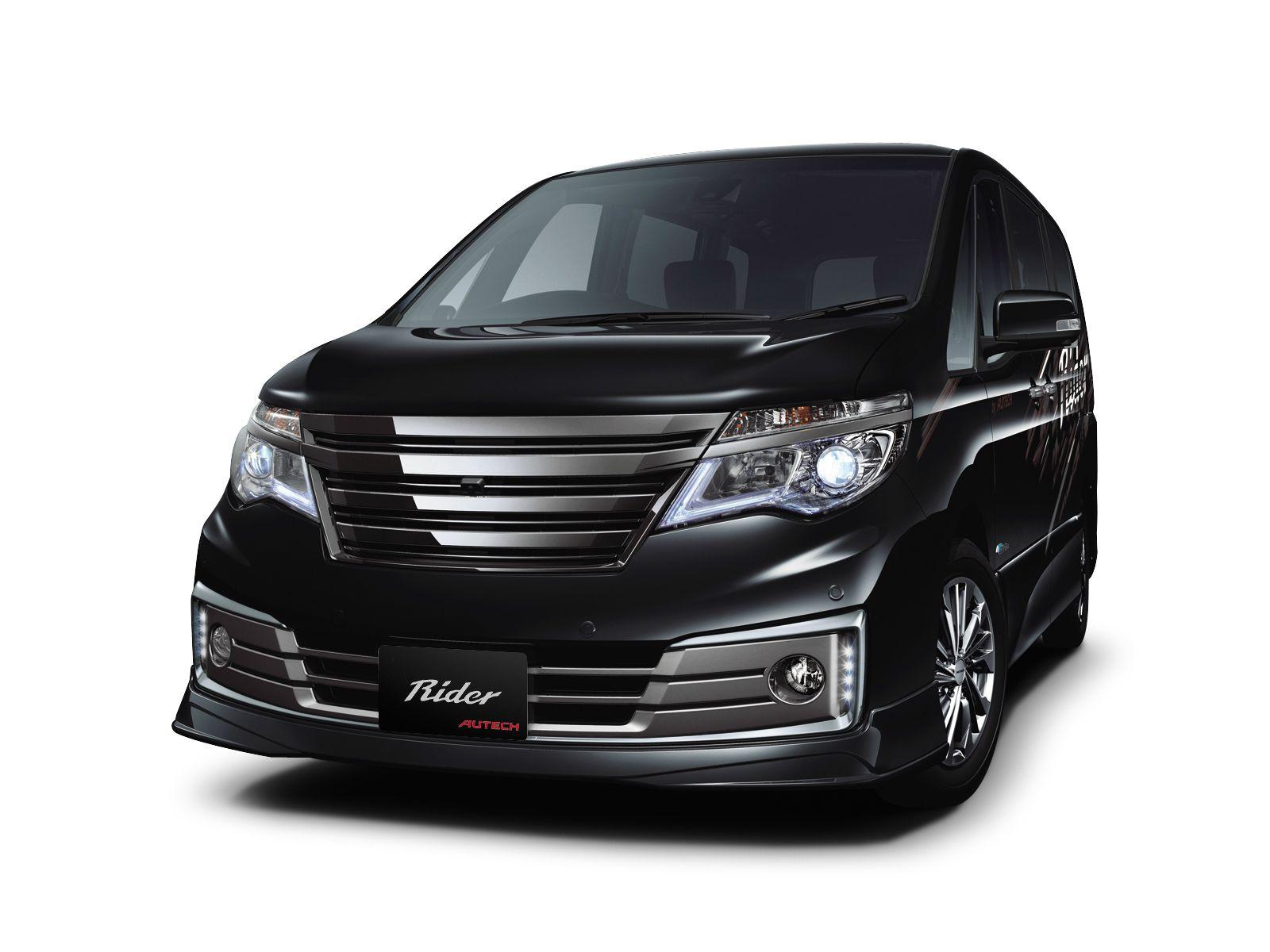 Autech Nissan Serena Rider Performance Spec Black Line