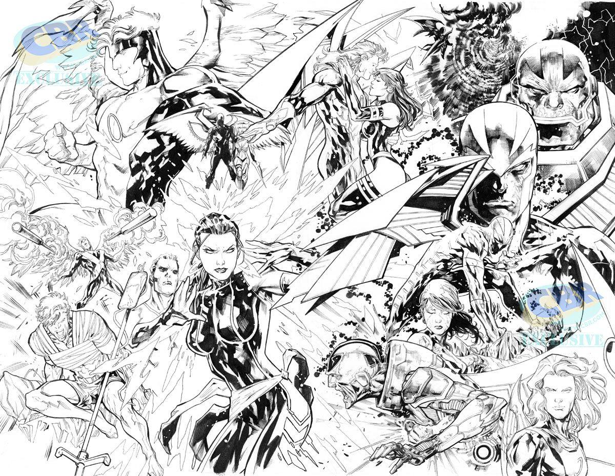 """""""Uncanny X-Men"""" #6 art by Ken Lashley"""