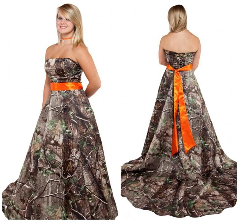 Camouflage Wedding Dresses David's Bridal