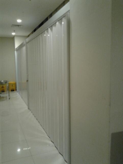 FOLDING GATE PVC ROLLING DOOR MENTENG SENEN JAKARTA | Pinterest